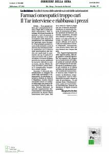 Corriere della Sera 24 febbraio 2014